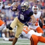 Browning tosses 3 TDs as Washington rolls Oregon St 41-17
