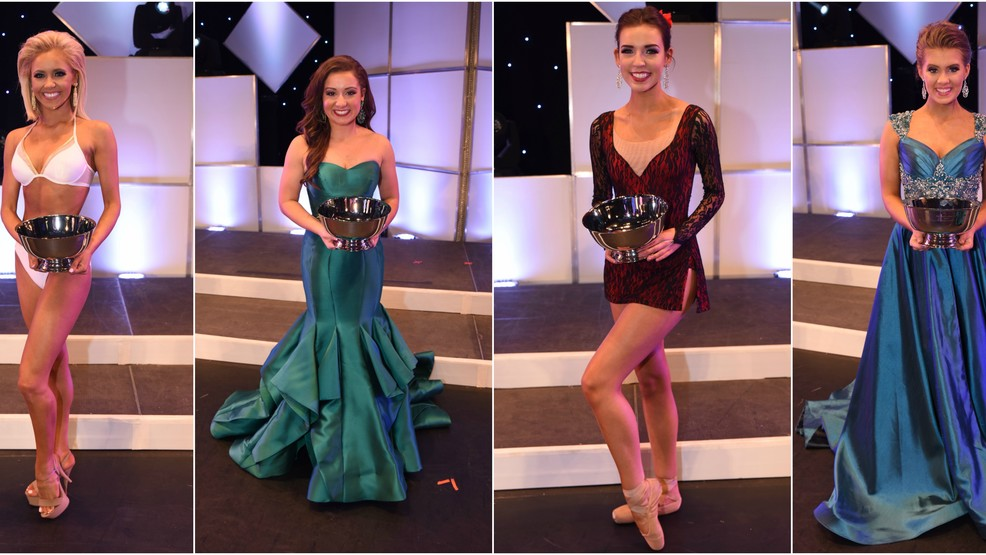 3 Double Preliminary Winners Announced at the Miss SC,Miss SC Teen Pageant