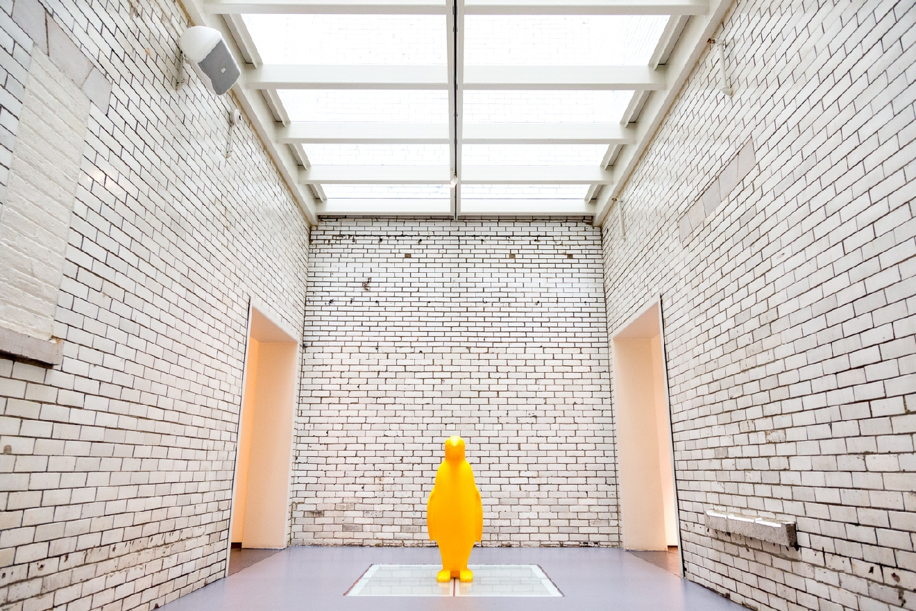 Awesome museum? Sure. Phenomenal restaurant? Yeah yeah. Stunning boutique hotel? Whatever. We know what the real draw is. ... It's the penguins. / 21c Museum Hotel Cincinnati is located at 609 Walnut Street (45202). // Image: Daniel Smyth Photography