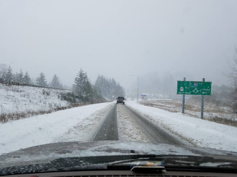 Snowy scenes from Snoqualmie Pass from the winter of 2016-17 (KOMO Photo)