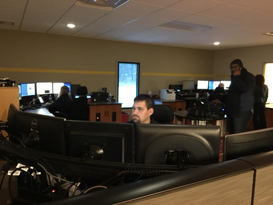 Shiawassee County Central Dispatch unveils new 911 call center. (Photo: Courtney Wheaton)<p></p>
