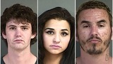 Deputies arrest 3 in Canyonville in stolen vehicle investigation