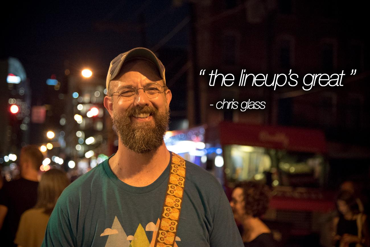 """The Lineup's Great"" - Chris Glass / Image: Phil Armstrong, Cincinnati Refined"