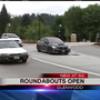 Roundabouts open to drivers: Crews finalizing Franklin Boulevard project in Glenwood area