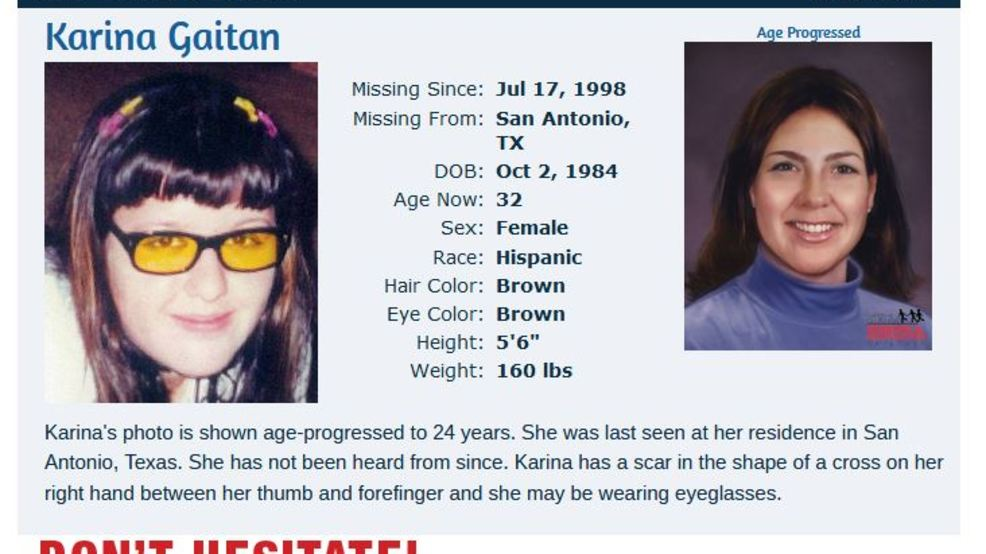 A look at the 29 children missing from San Antonio on National