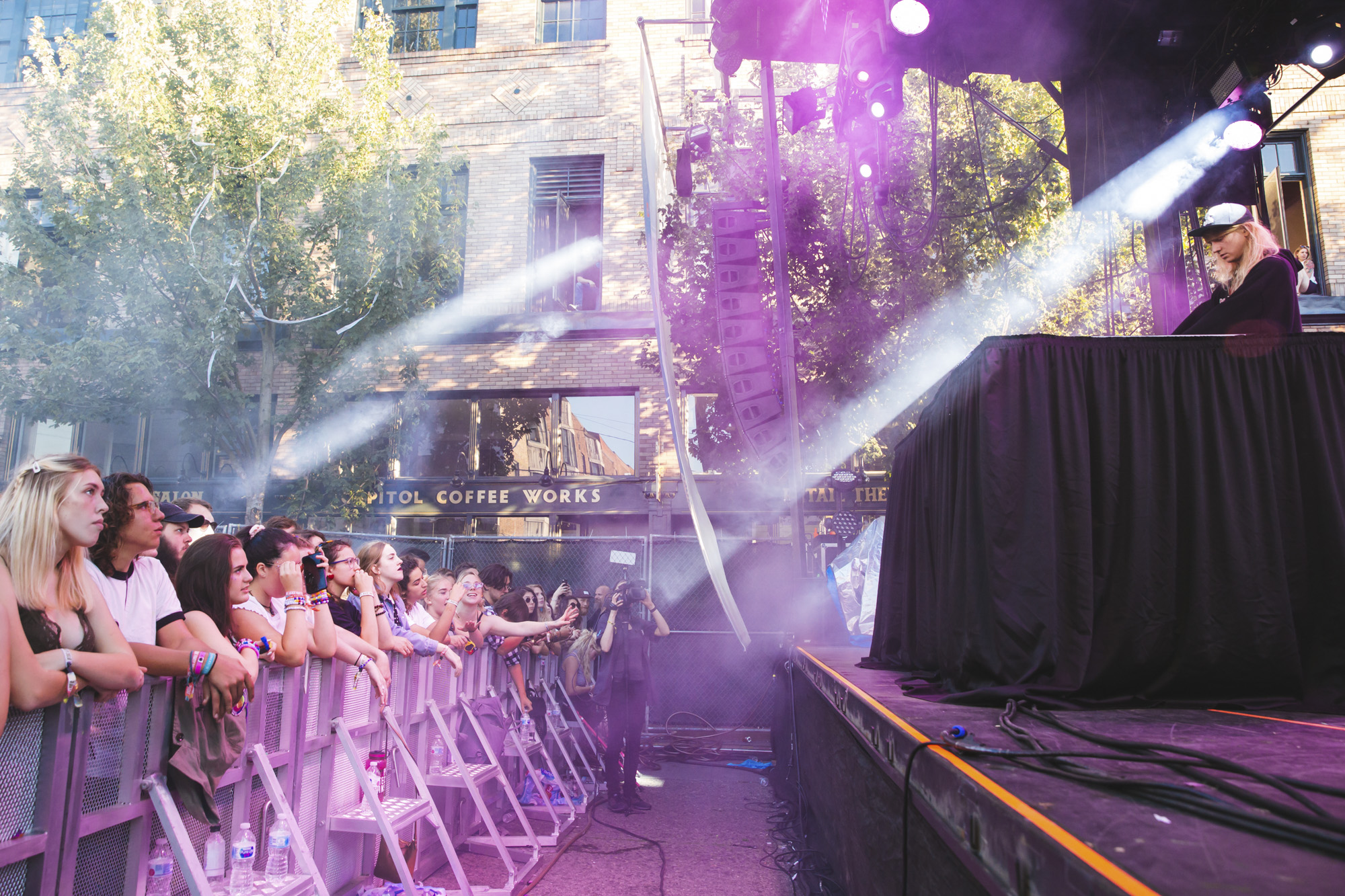 Over 20,000 people are expected to attend Capitol Hill Block Party this year! The annual three-day music festival in the heart of the Capitol Hill neighborhood has six stages, indoor and outdoor venues, multiple beer gardens and VIP lounges. Headliners include Father John Misty, Dillon Francis, Brockhampton - as well as promising local talent and lesser-known performers across a variety of genres. (Image: Sunita Martini / Seattle Refined)