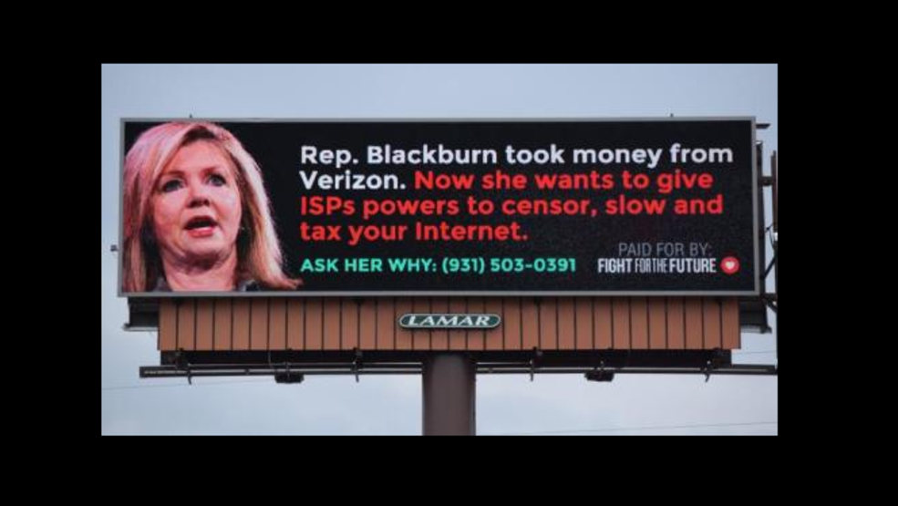 Net neutrality group targets tennessee rep marsha for Target clarksville tn