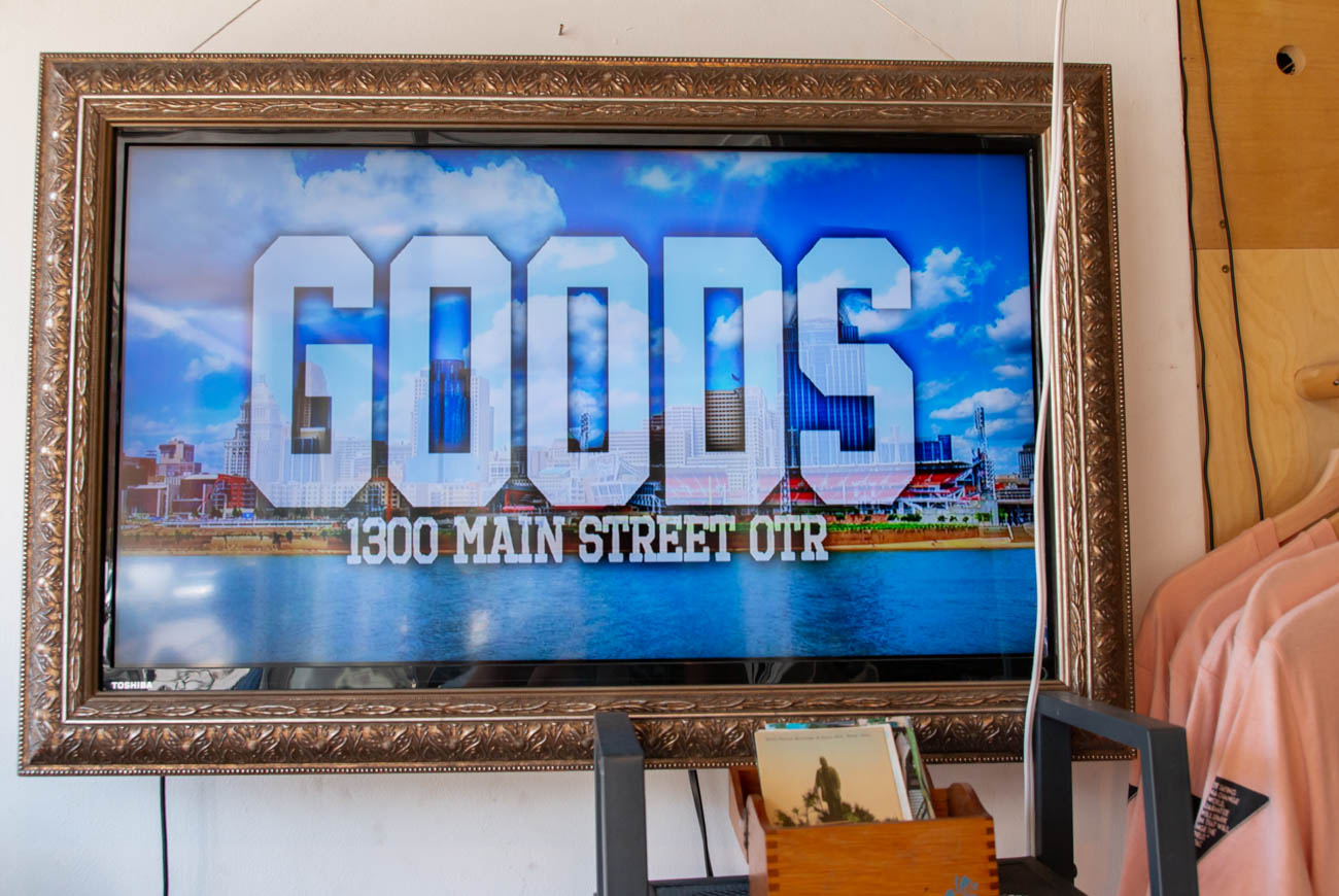 <p>PLACE: GOODS / ADDRESS: 1300 Main Street (45202) / GOODS is all about storytelling. Whether it's through their Cincy throwback gear, hand-picked vintage clothing and decor, or their ever-growing collection of rehabbed mopeds serviced and sold by co-owner Carl Hunt, GOODS is where it's at. They originally changed out their merchandise on a regular and seasonal basis with different themes, but they're now more consistent with their products. And rest assured that newer items they stock are still locally made by artists and designers. The engine shop is in the back where they rework and build custom mopeds. Stop by on Friday and Saturday from 12 to 7 PM and on Sunday from 12 to 5 PM. / Image: Elizabeth A. Lowry // Published: 8.16.19</p>