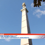 Take'em Down Rally calls to remove Confederate monuments