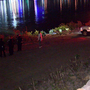 Pair escapes as car rolls into the Ohio River