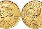 Betty Ford Honored With First Spouse Coin