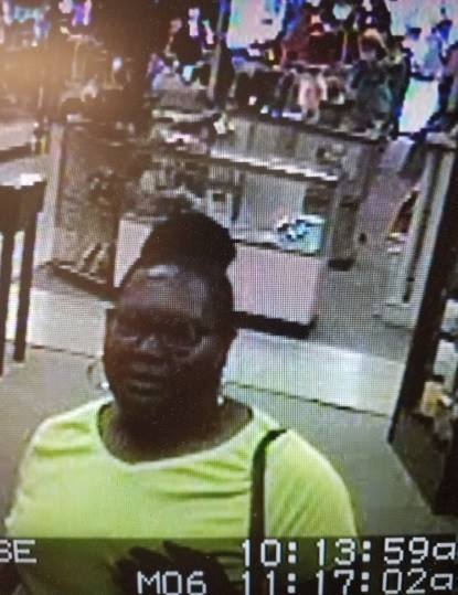 Macon woman wanted for thefts / Bibb County Sheriff's Office