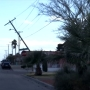 Strong winds cause damage, power outages across El Paso Saturday