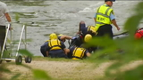 Rescue crews recover body of pinned kayaker in French Broad River
