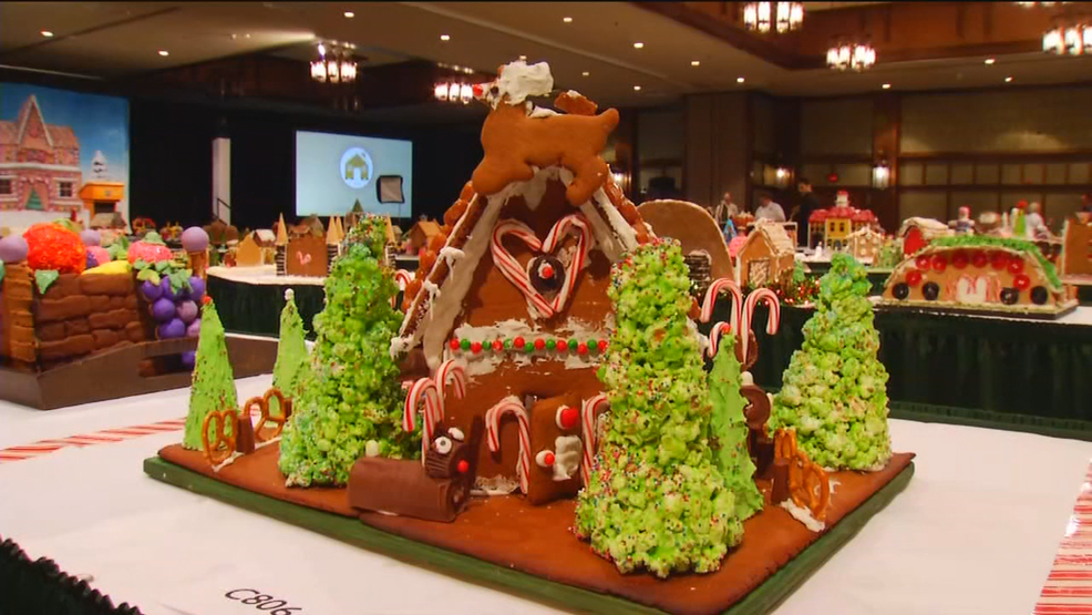 27th Annual National Gingerbread House Competition happening Monday