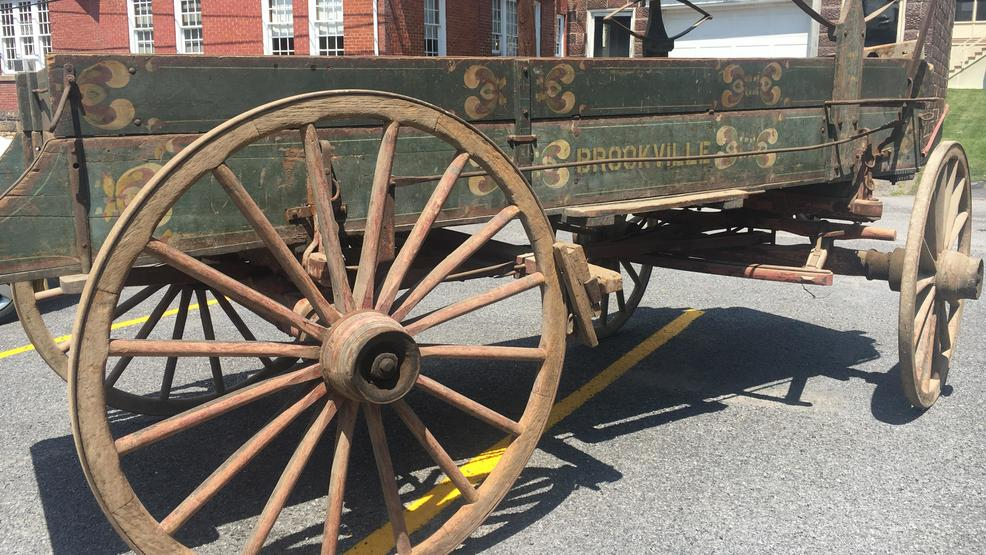 Historical Brookville wagon returns home | WJAC