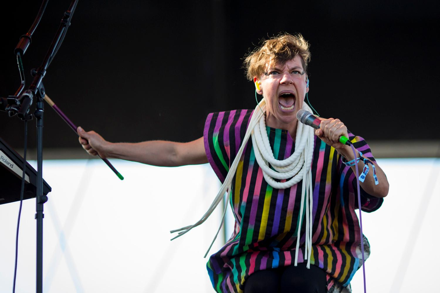 Tune-Yards performs on the third and final day of the Sasquatch! Music Festival. See you next year Sasquatch! (Sy Bean / Seattle Refined)