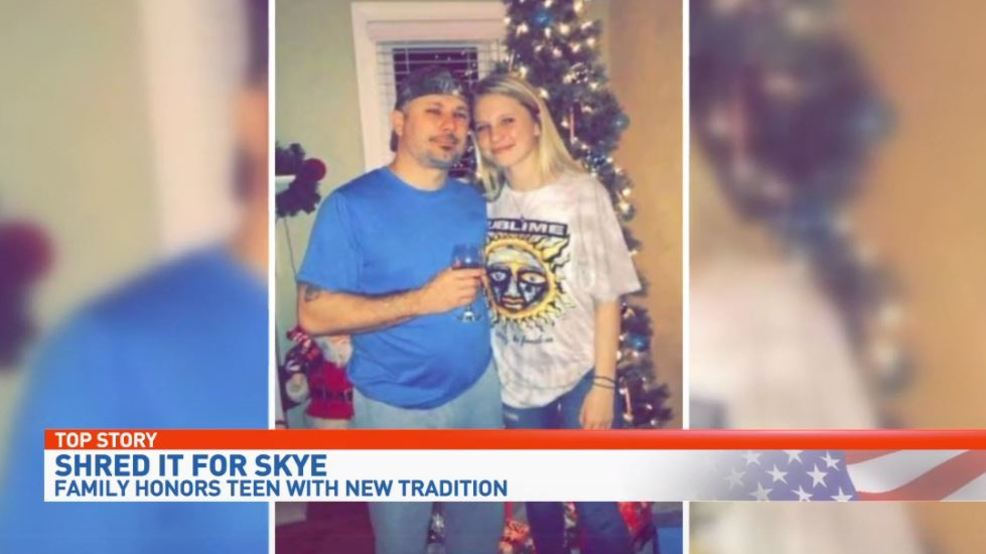 'Shred It For Skye': Gulf Breeze teen killed in house fire honored with