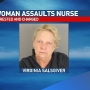 Patient jabs feces-covered finger in nurse's eye, police say