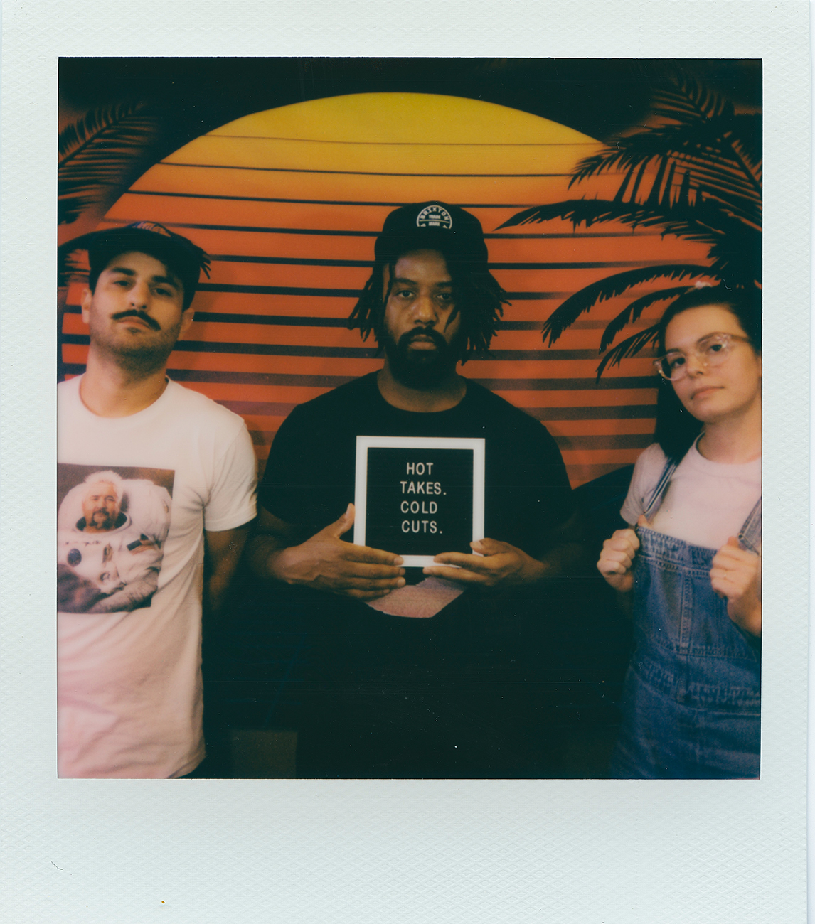 Mikey Fabian (culinary director and family meal chef), Jordan Anthony-Brown (chef and owner), and Willa Pelini (creative director and pastry chef/co-founder of Baker's Against Racism) / Image: Trevor Biggs{ }// Published: 11.13.20