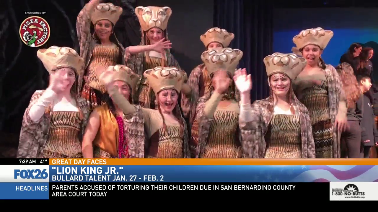 Bullard Talent presents Disney's The Lion King Jr.