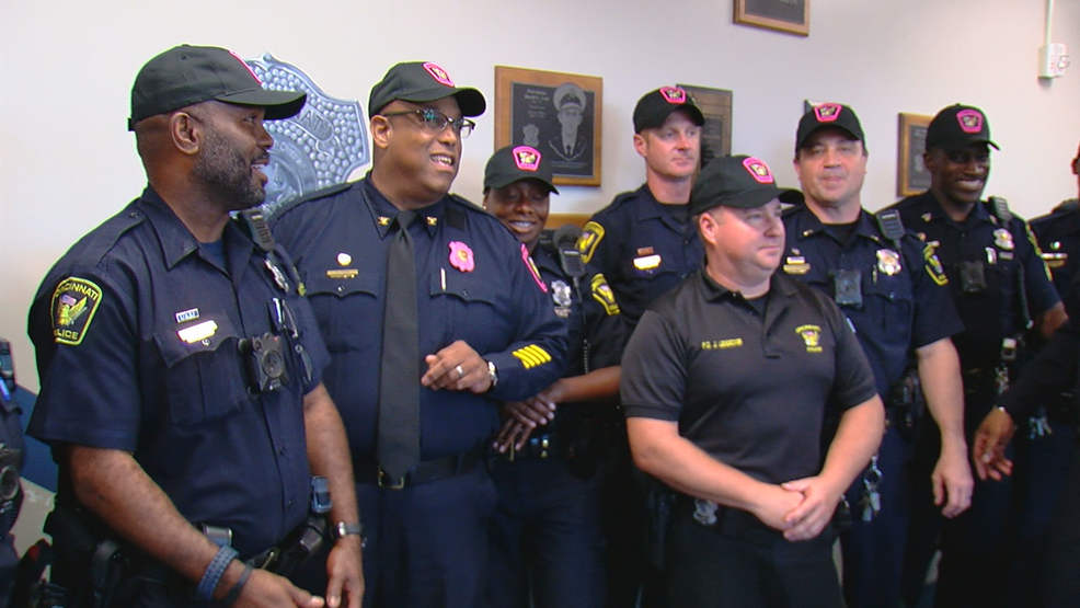 """Real Men Wear Pink"": CPD raising money for cancer research"