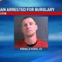 Police: Man arrested for multiple charges following burglary in Fulton