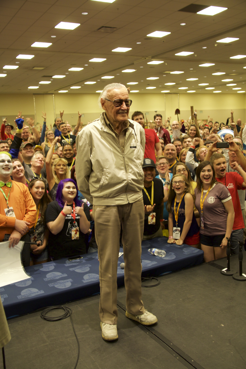 Stan Lee, American comic-book writer / Image: Dr. Richard Sanders