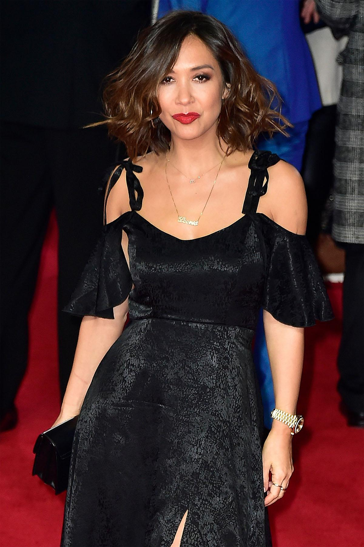 Celebs and cast attend the UK premiere of Star Wars the Last Jedi.  Featuring: Myleene Klass Where: London, United Kingdom When: 12 Dec 2017 Credit: WENN