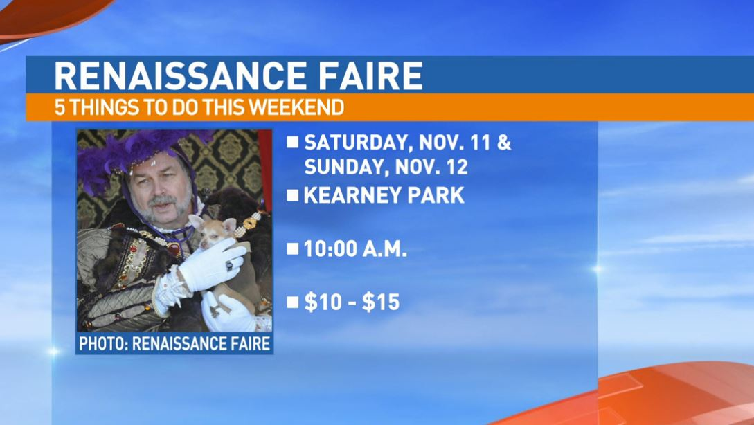 Renaissance Faire Saturday and Sunday at Kearney Park in Fresno