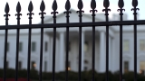 Male suspect taken into custody for attempting to climb over White House security barrier