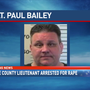 Mobile County Lieutenant arrested for rape, sodomy of two minors