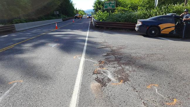 Motorcycle rider dies in Southern Oregon crash, wife critically injured