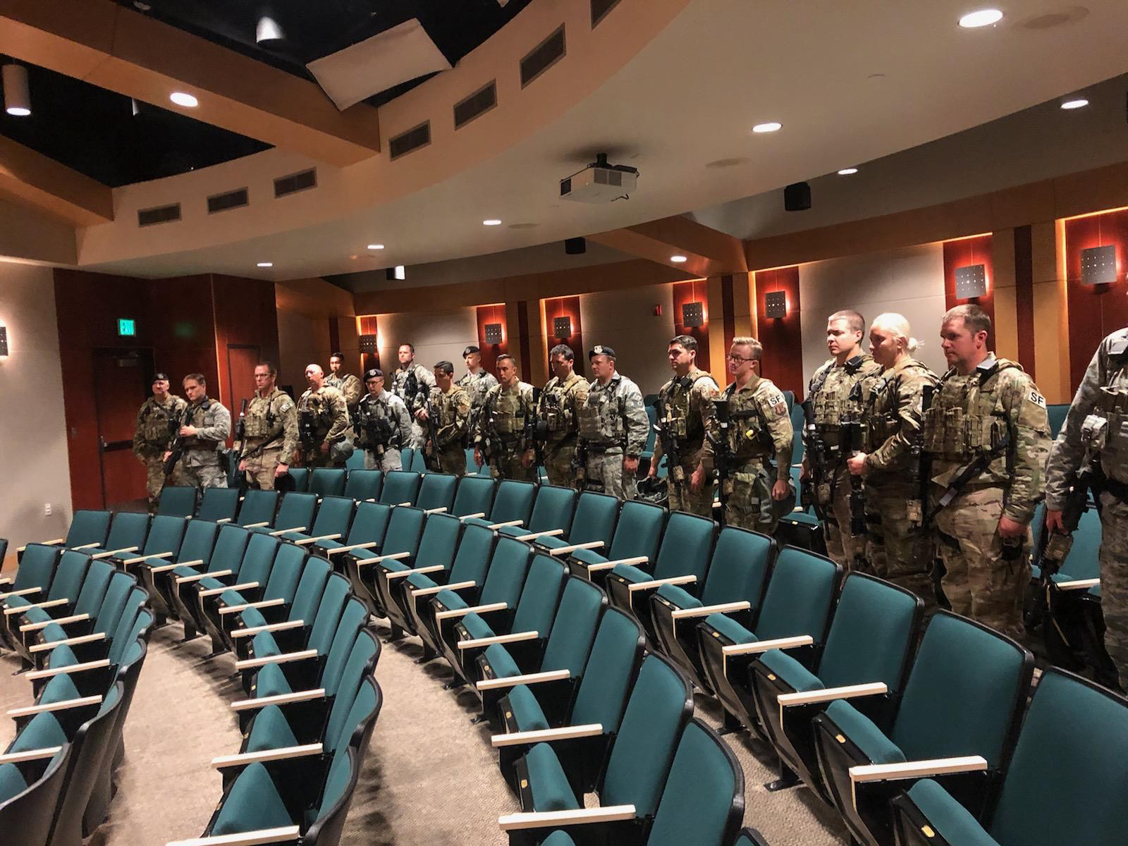 Utah National Guard activated by order of Gov. Gary Herbert in response to downtown riot (Photo: UNG)<p></p>