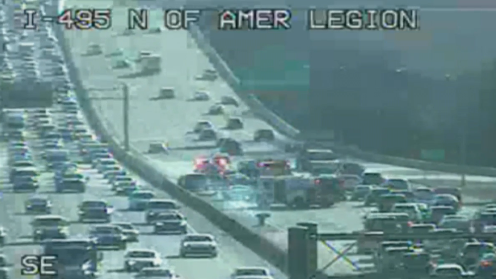 Officials: Lanes blocked on Outer Loop of Beltway after 7 car ...