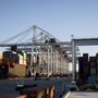 US trade deficit falls for second straight month in April