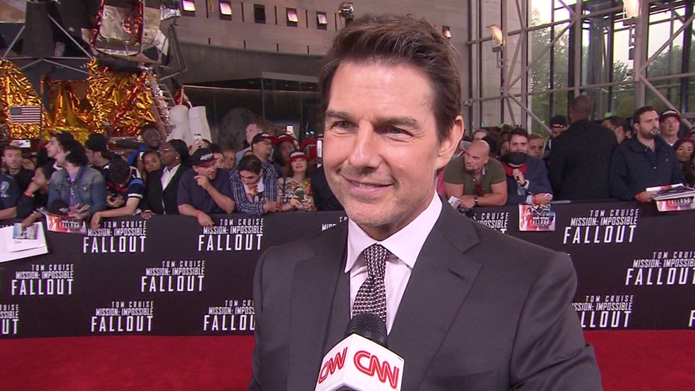 Tom Cruise working with NASA to shoot a film in outer space