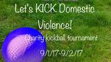 Parents want to KICK domestic violence with upcoming  kickball tournament