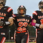 One of the toughest players on the Rosman football team is a girl