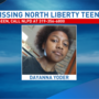 North Liberty PD looking for missing teenager