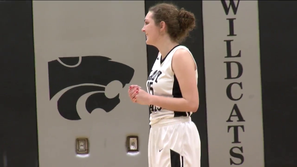 2.21.18 Video - Edison's Kayla Huff hits 1,000 career point mark in 'Cats tourney opener