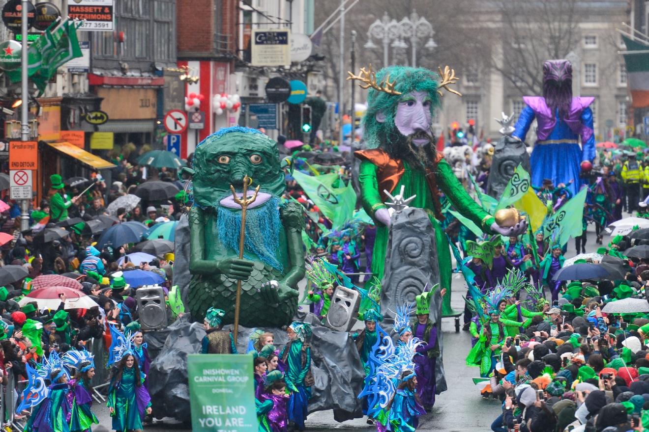 Photos St Patrick S Day 2017 Parade In Dublin Wabm