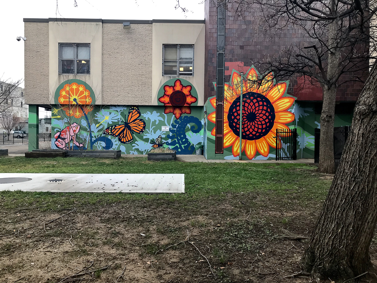 LOCATION: John Moffet Elementary School / NEIGHBORHOOD: Kensington (Northern Philly) / Image: Tiffany Hudson // Published: 4.6.18