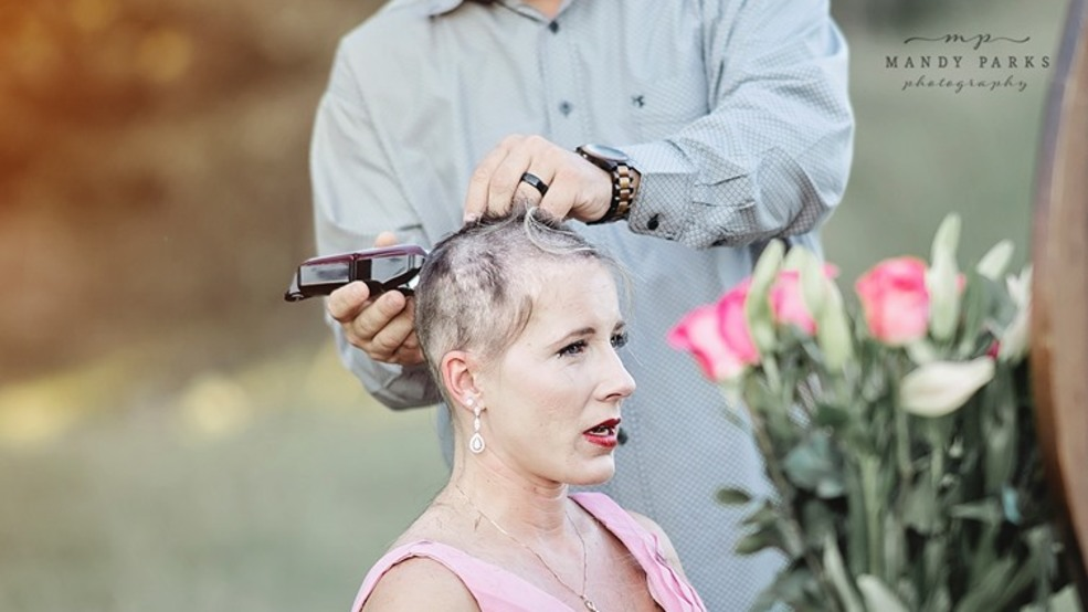 Arkansas couple's powerful breast cancer photo shoot goes viral | KATV
