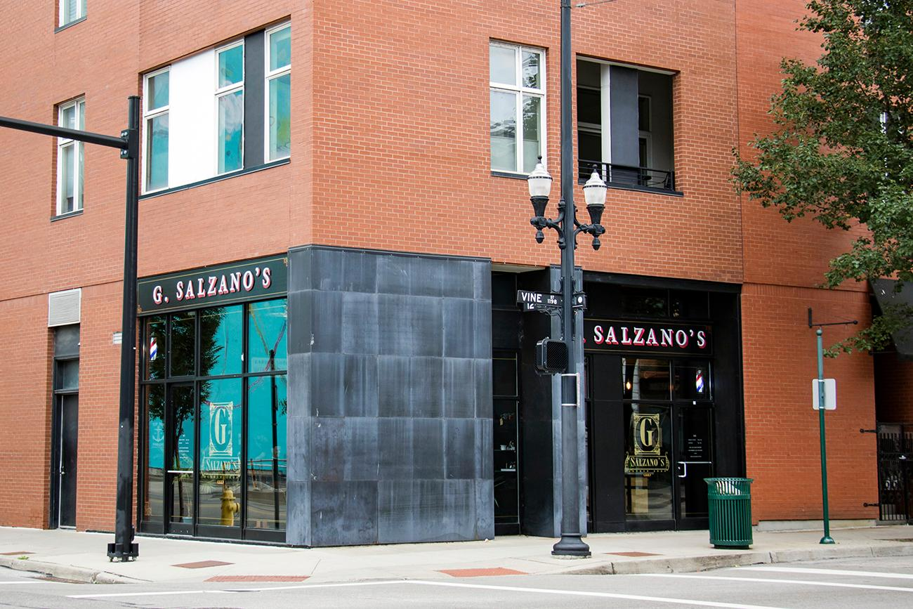 G. Salzano's is a family owned and operated classic barbershop located in the Gateway Quarter of Over-the-Rhine. From haircuts to hot lather shaves, Salzano's offers a high-class grooming experience. ADDRESS: 1150 Vine Street (45202) / Image: Allison McAdams // Published: 9.27.18