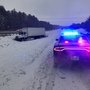 Storm causes numerous crashes, slide-offs