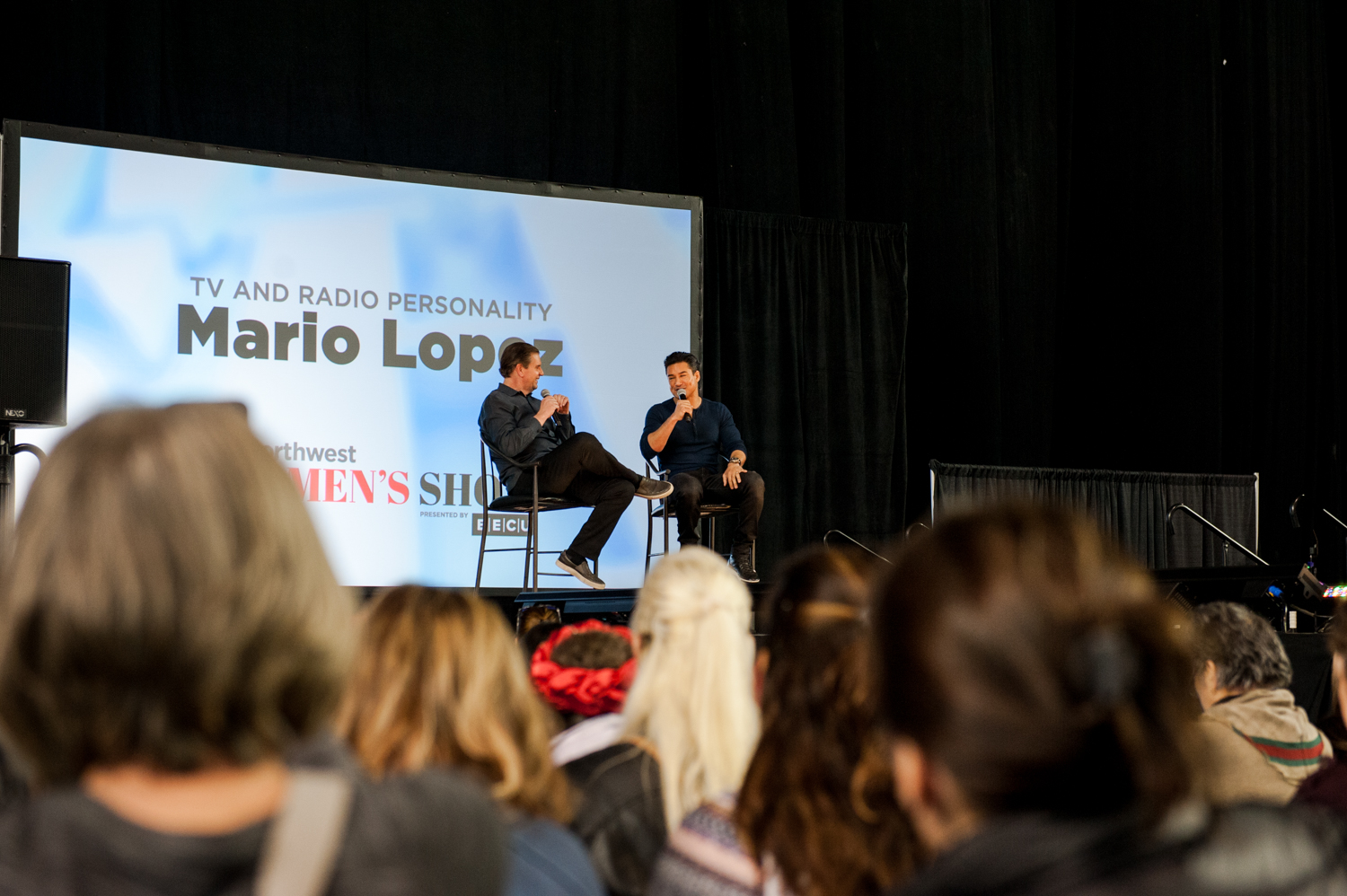 Mario Lopez headlined Saturday, March 9, 2019 at the So Northwest Women's Show presented by BECU on the Washington's Lottery Main Stage and we could not have been happier. When we picked our jaws up off the floor, we found A.C. Slater as delightful and talented in person as he is on the screen. Oh - and he can do the Cupid's Shuffle like no one else! (Image: Elizabeth Crook / Seattle Refined)