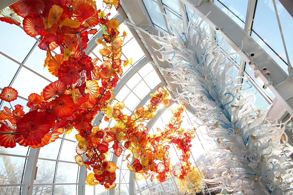 winter magic at chihuly garden and glass seattle refined