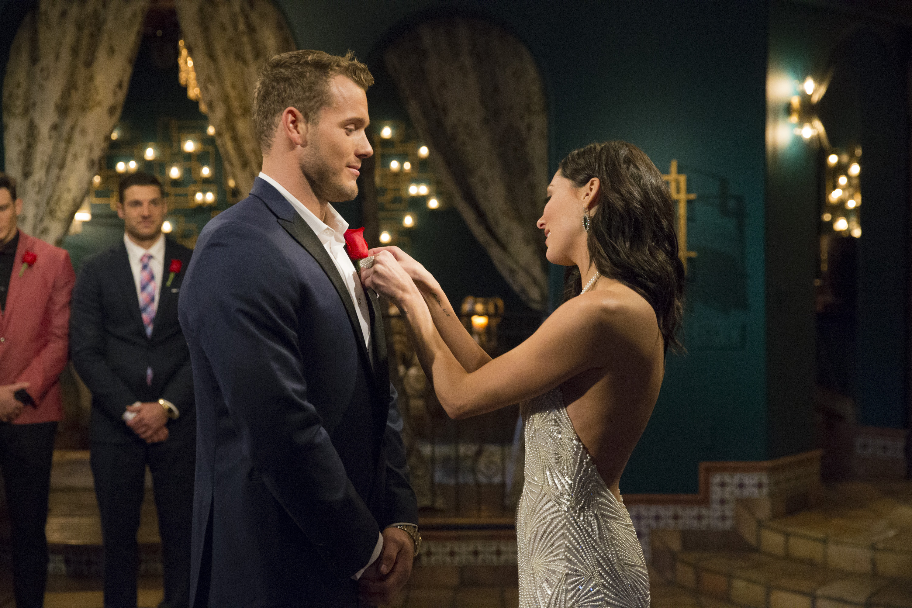 Throughout Becca's season, the theme of honesty was a high priority for the Bachelorette who had previously been jilted by the untruthful Arie. Colton made it clear from the beginning he intended to be open and honest and communicative. He divulged his brief relationship with Tia early on, and assured Becca he was there for her.{ }(Image: ABC/Paul Hebert)