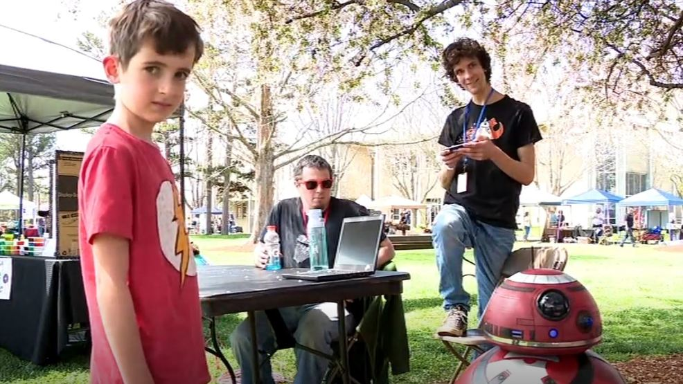 Tinkerers, creators and inventors take center stage at Mini Maker Faire